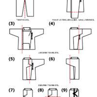 空手 帯 の 結び方